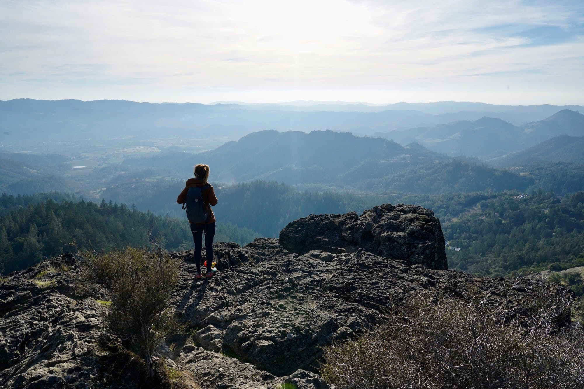 Hike Table Rock in Napa