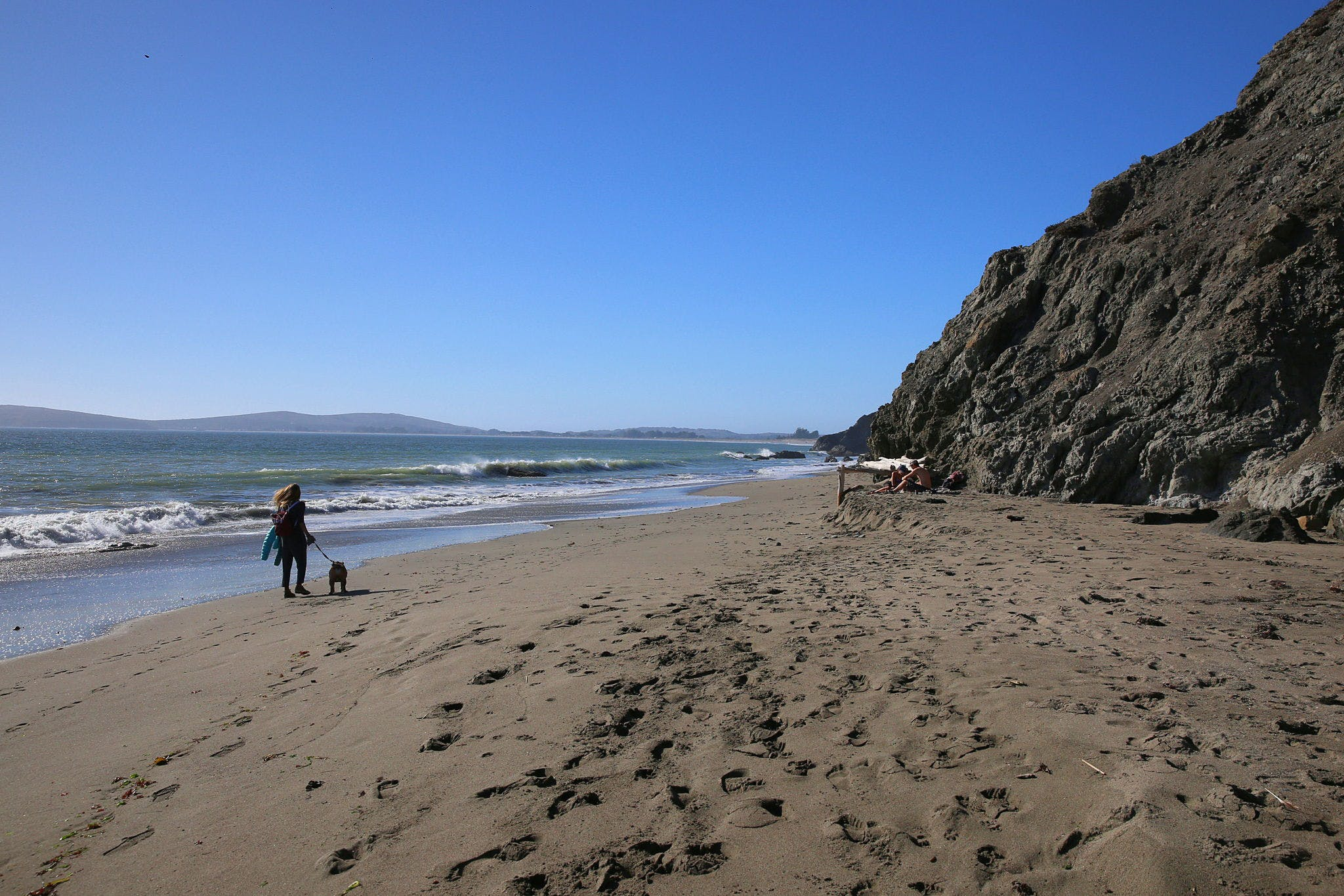 Hike in to Pinnacle Gulch Beach in Sonoma County