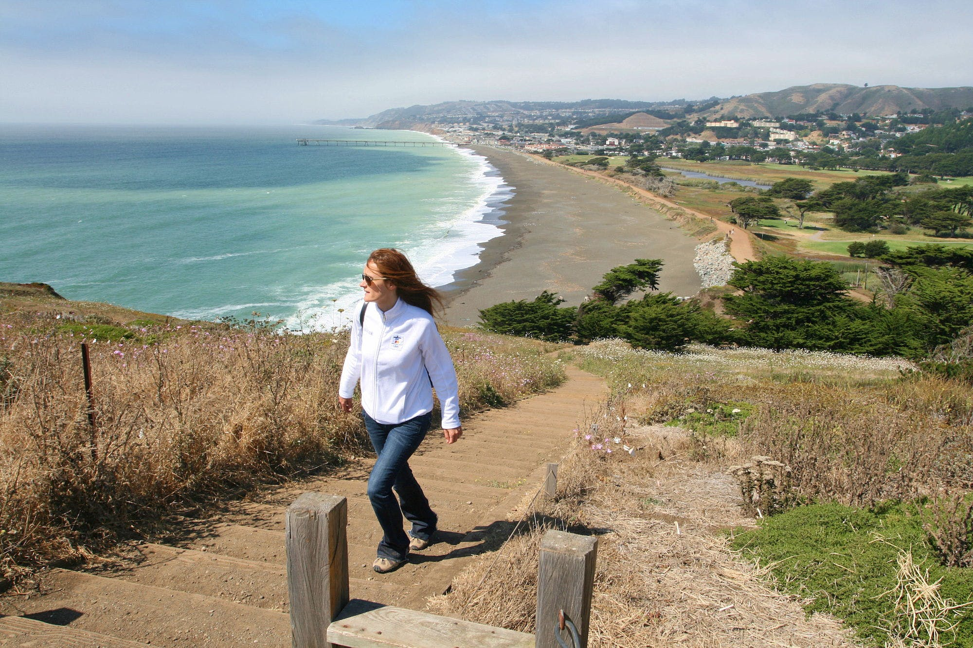 Hike and whale watch at Mori Point in Pacifica