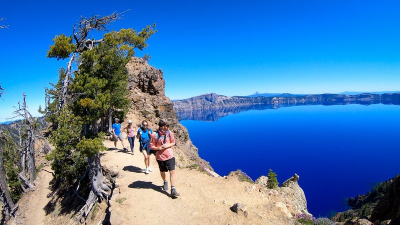 Hike to Garfield Peak in Crater Lake National Park