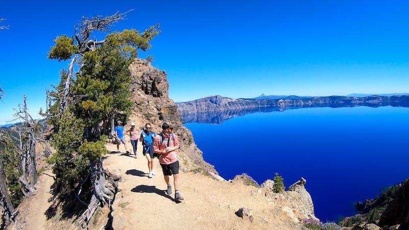 Hike to Garfield Peak in Crater Lake National Park