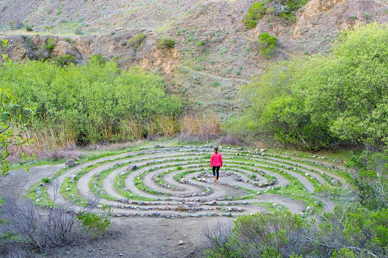 Labyrinth Hike at Sibley Volcanic Regional Preserve in the East Bay