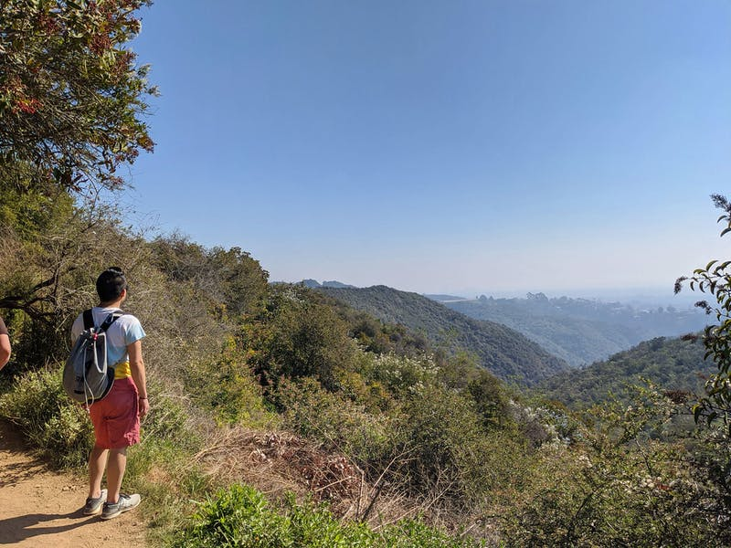 Hike To Skull Rock in Pacific Palisades