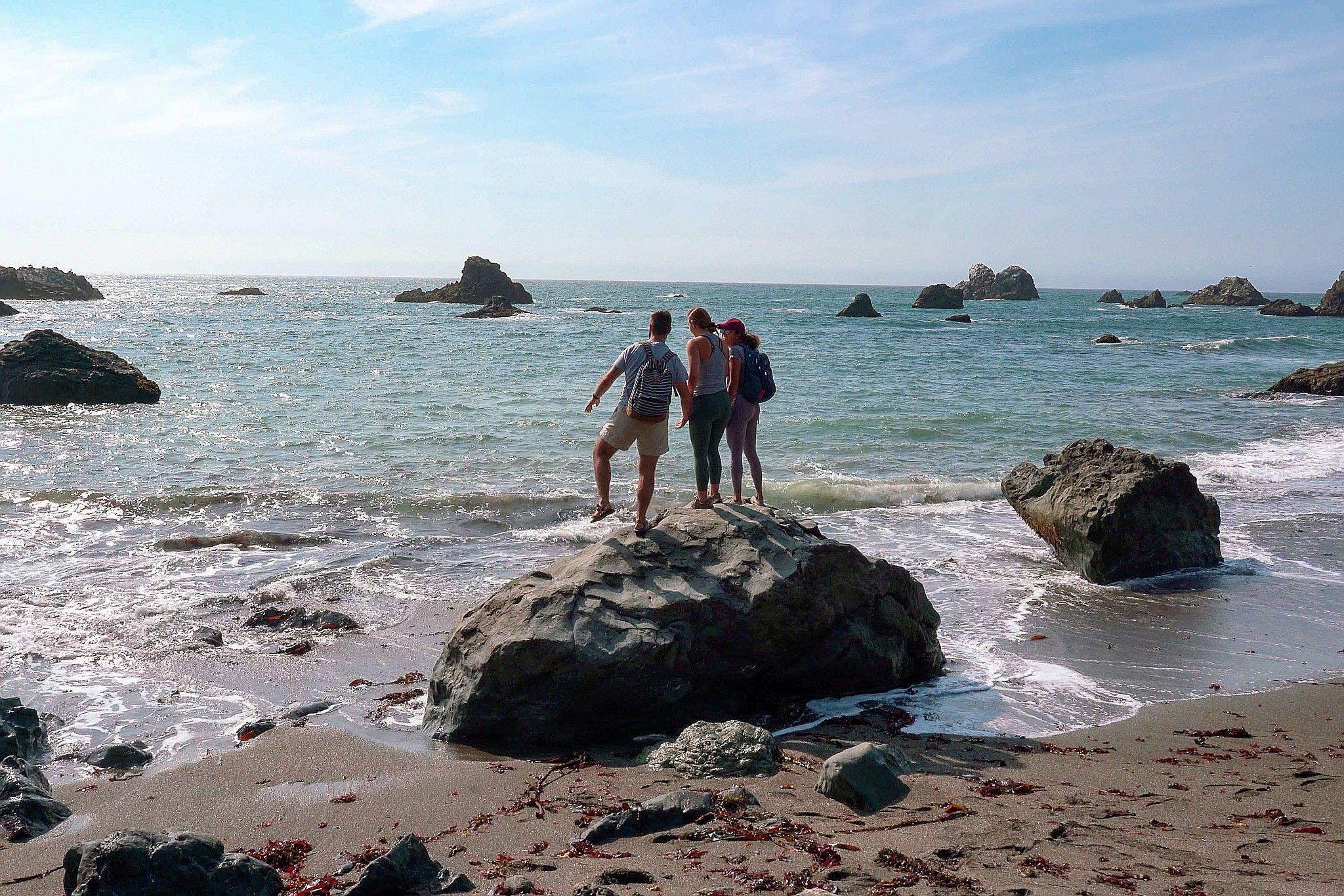 Shell Beach on the Sonoma Coast