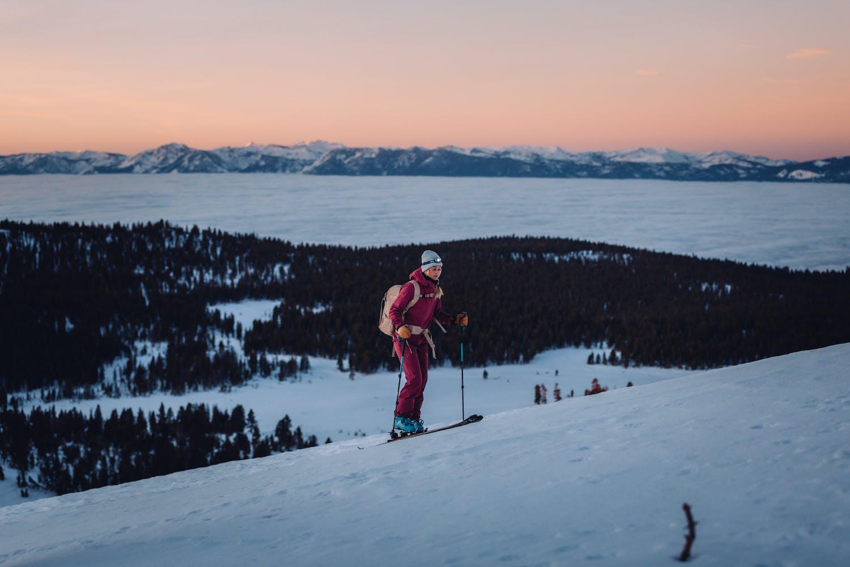 Reno Tahoe Snowshoe hike