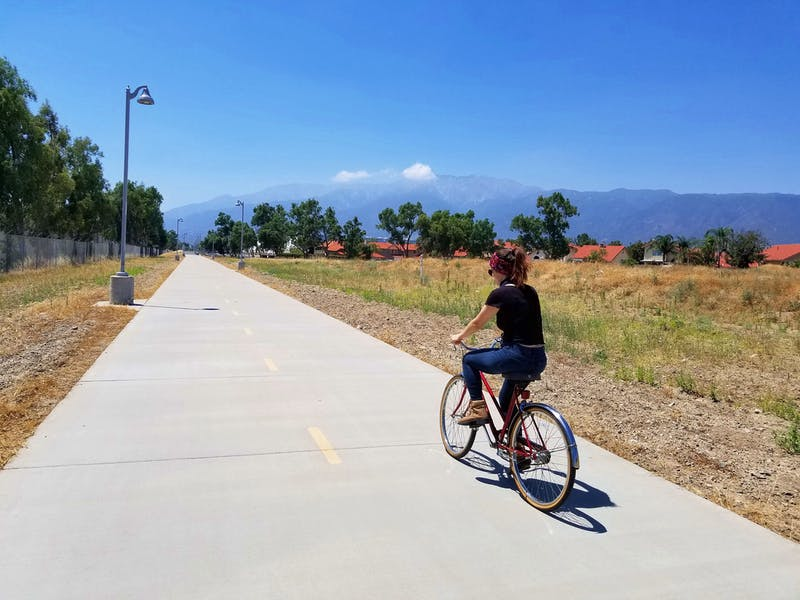 Bike the Pacific Electric Trail in SoCal