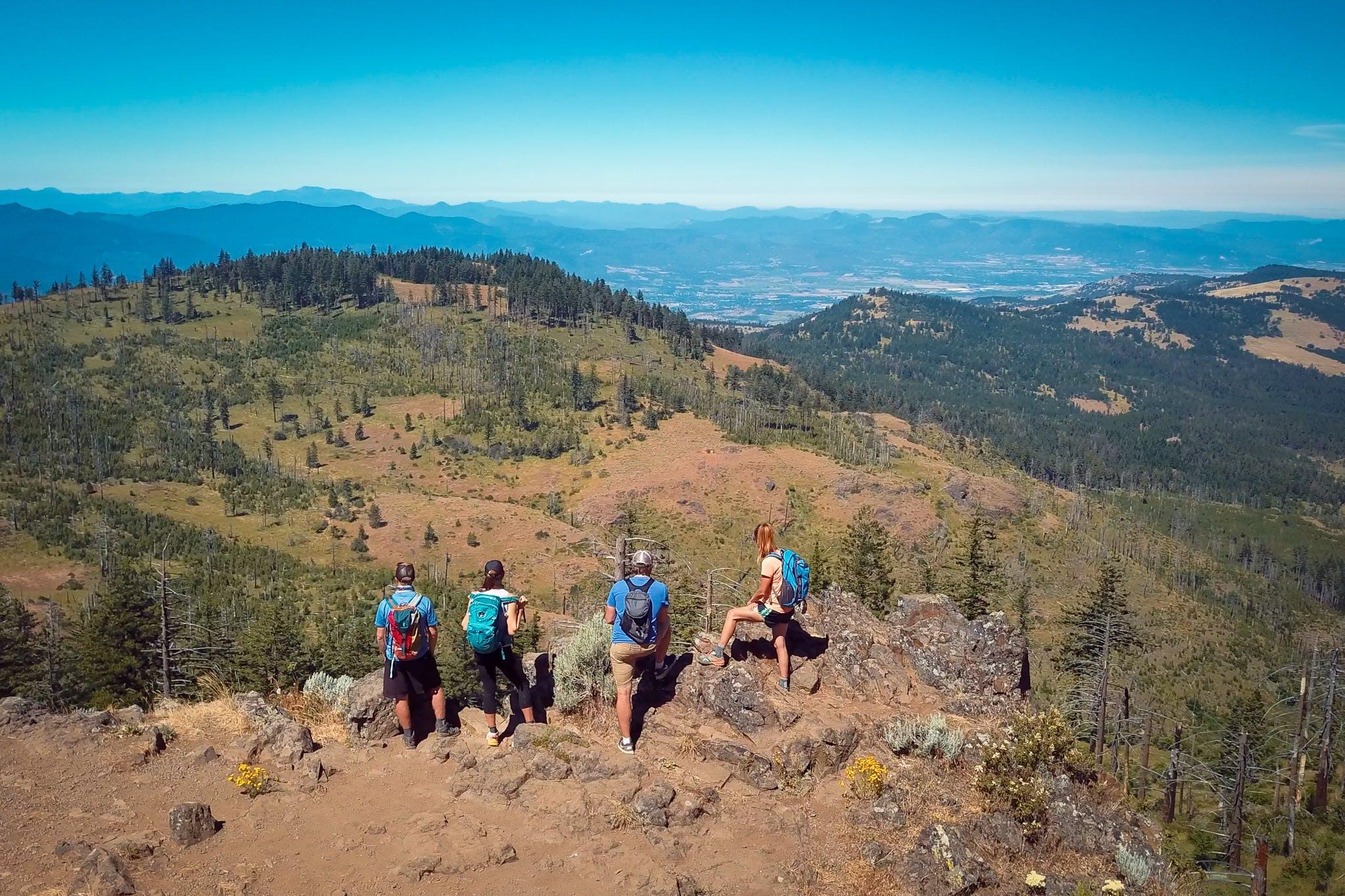 Grizzly Peak Hike Ashland Oregon