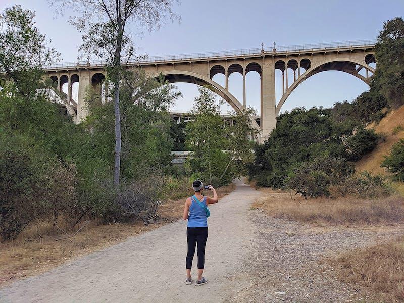 Hike to Colorado Bridge in Pasadena