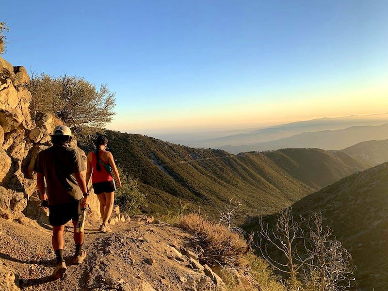 Hike to San Gabriel Peak in Southern California