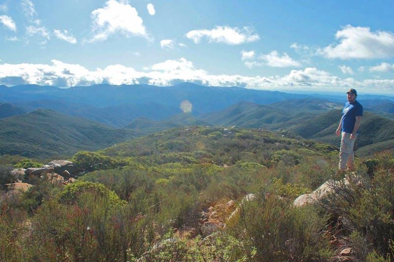 Hike Sitton Peak Santa Ana mountains