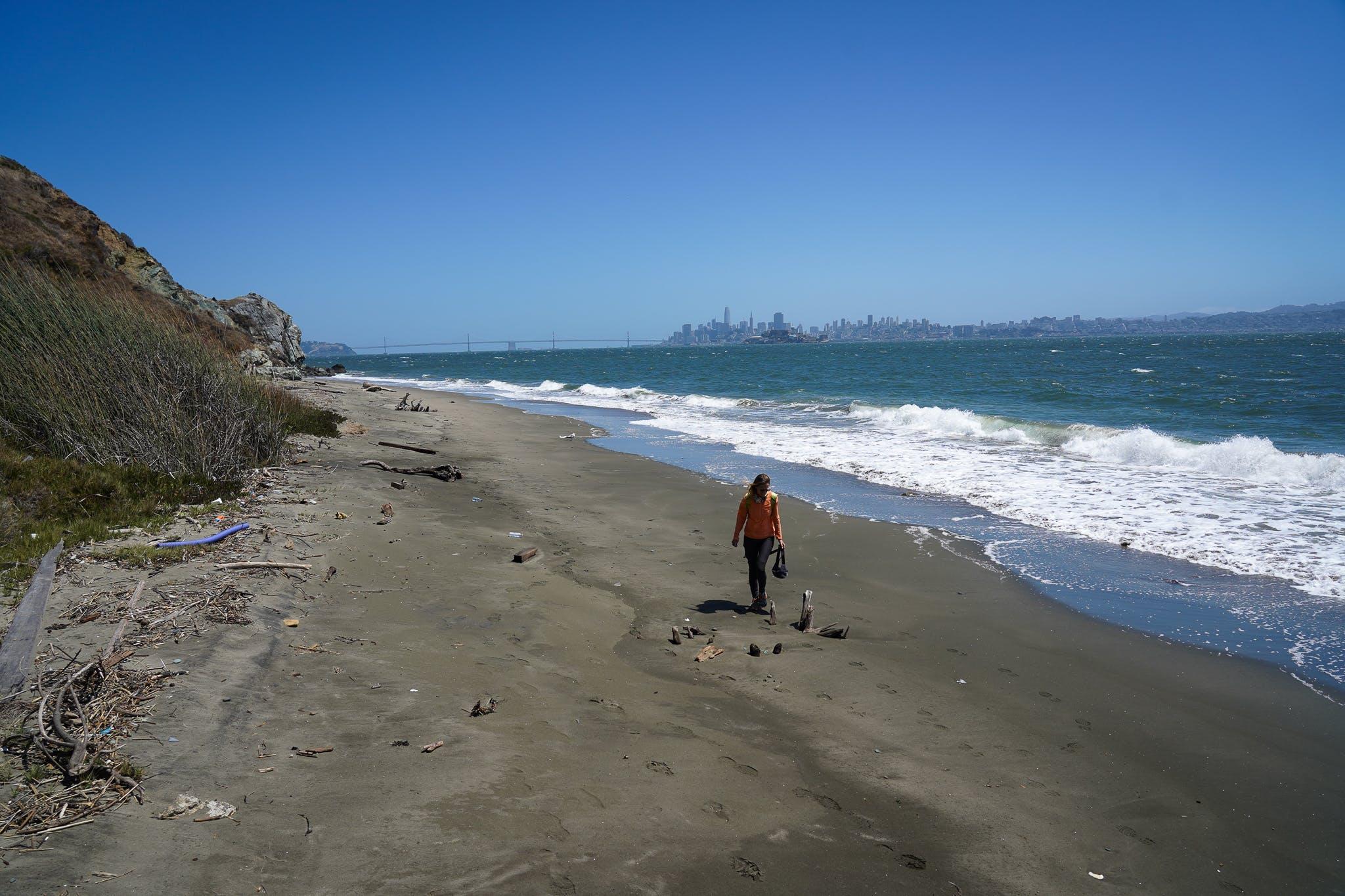 Angel Island Secret Perles Beach views San Francisco