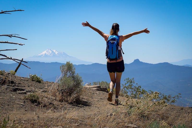 Hike to Grizzly Peak Near Ashland, Oregon