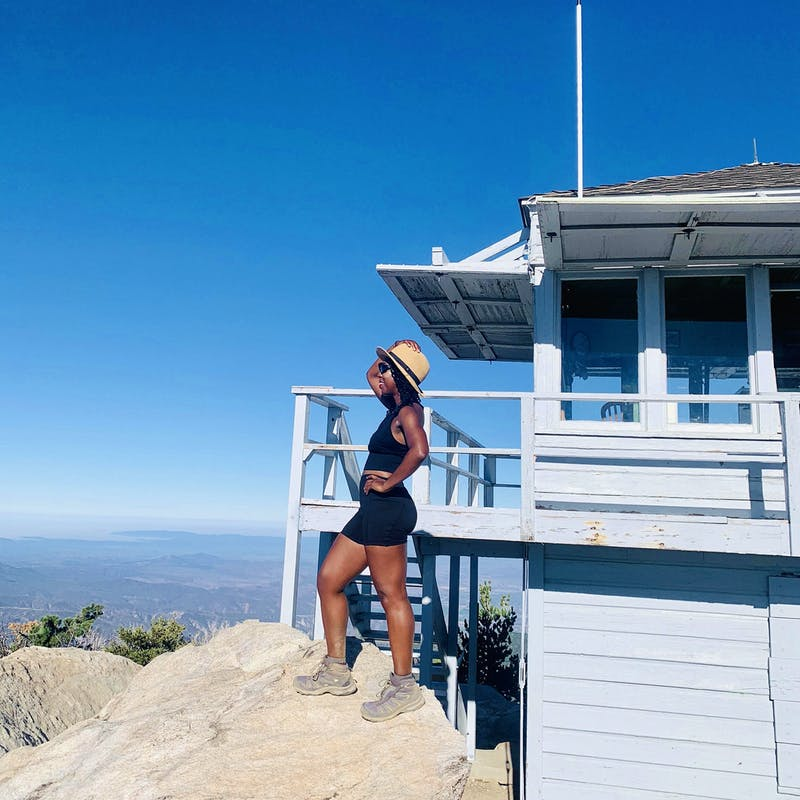 Hike to Tahquitz Peak Lookout via the Devil's Slide Trail in