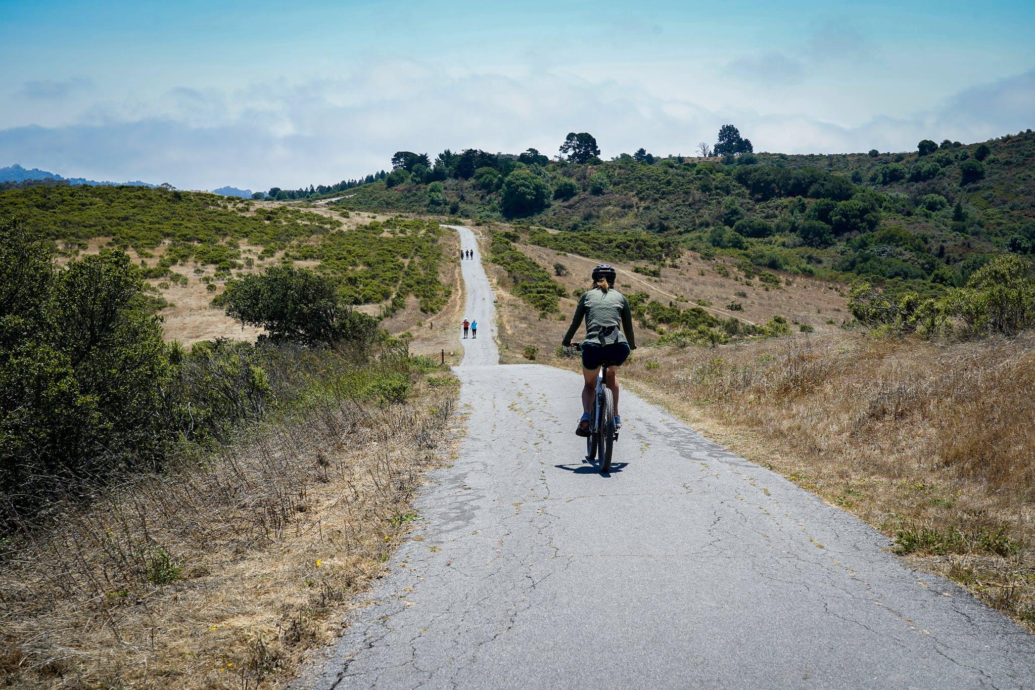 Bicycle Nimitz Way Trail Tilden Park Berkeley
