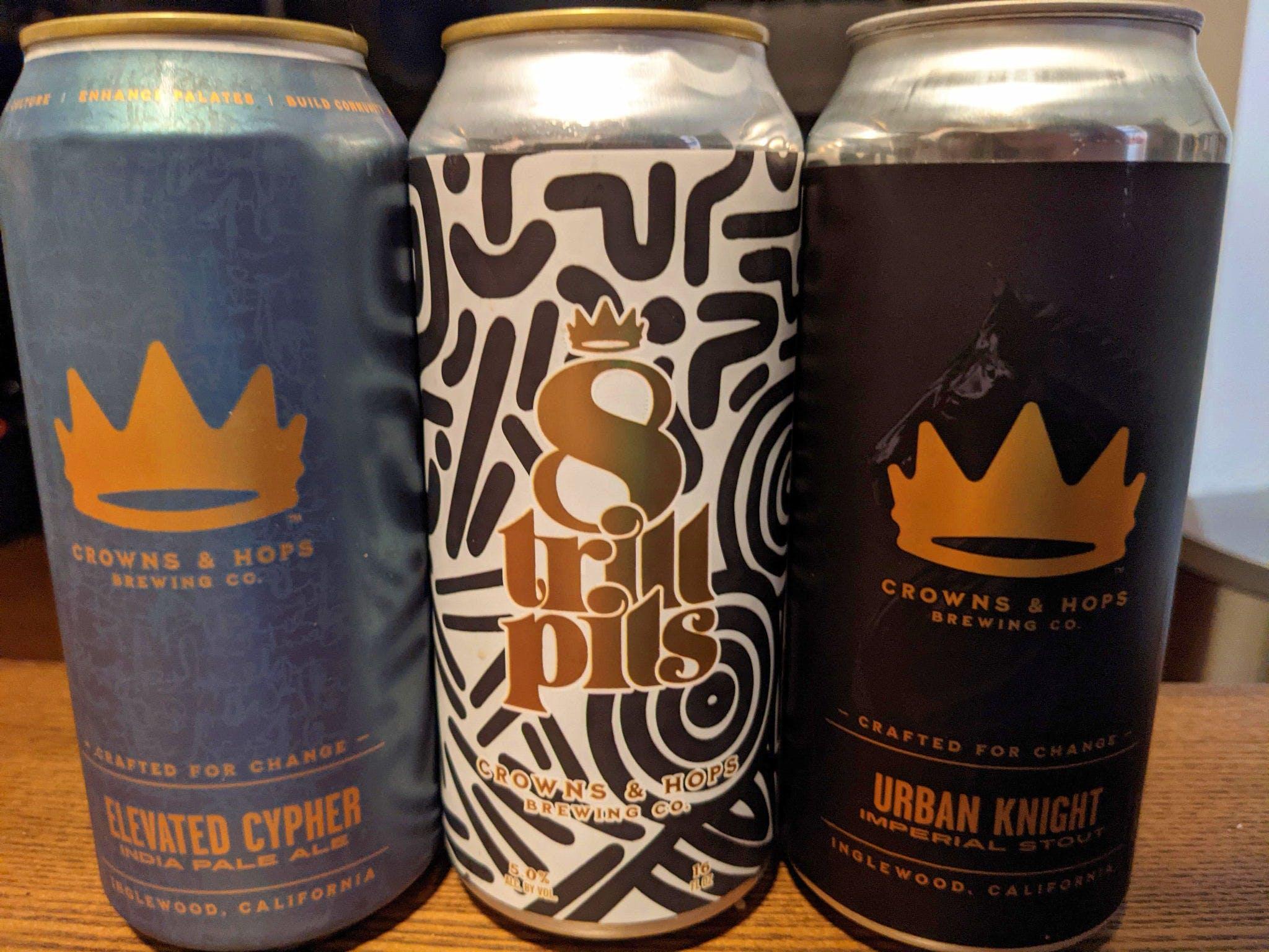 Beer by Crown and Hops in Los Angeles