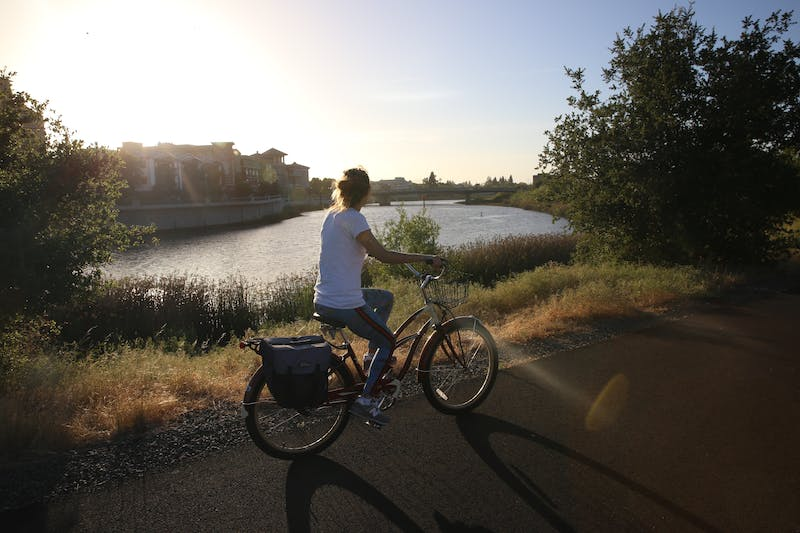 Beer in wine country? It all goes down nice and smooth when you pair your craft brew après with a paved, car-free bike trail paralleling the Napa River.