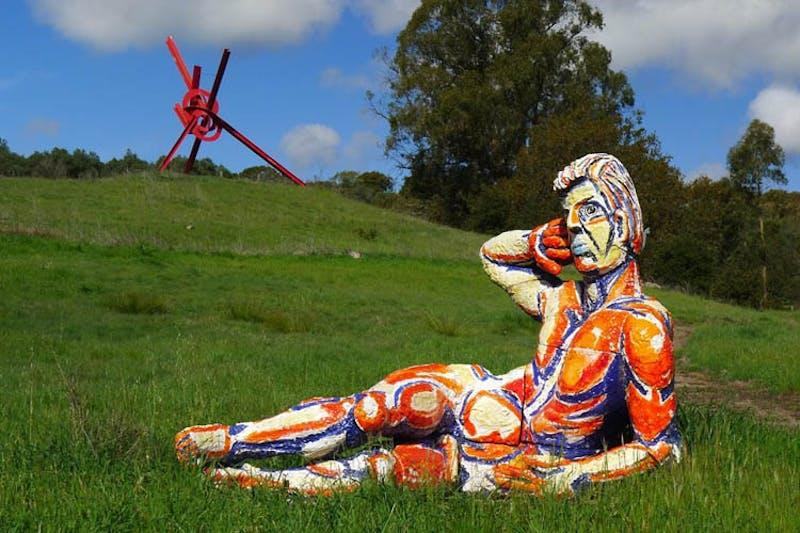di Rosa outdoor art napa