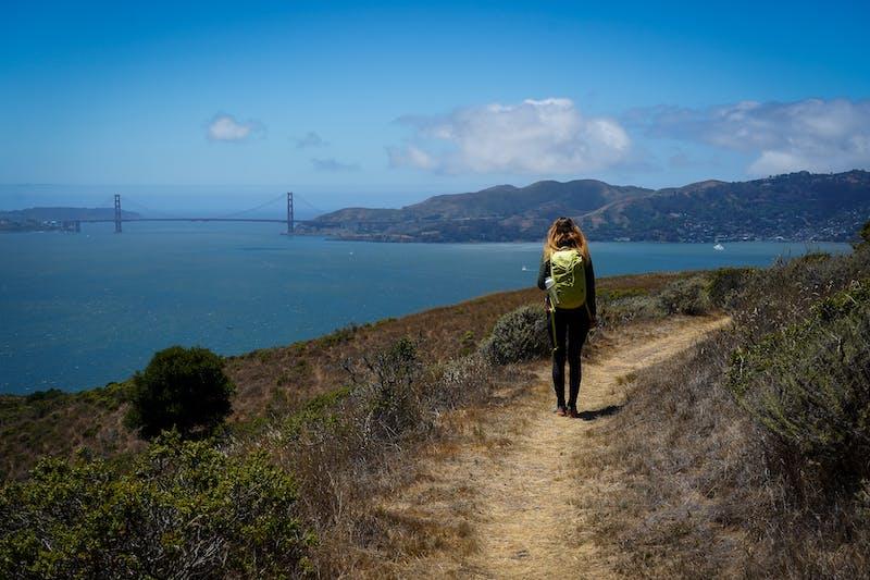 Hike top Angel Island Mount Livermore San Francisco Bay