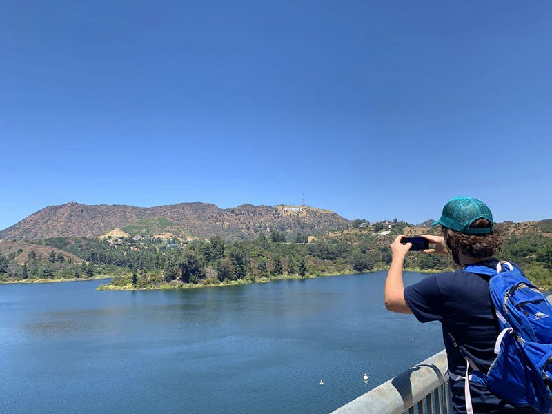Lake Hollywood Loop Hike in LA Count