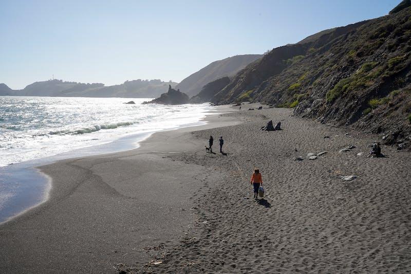 Black Sands Beach Upper Fishermans Marin Headlands