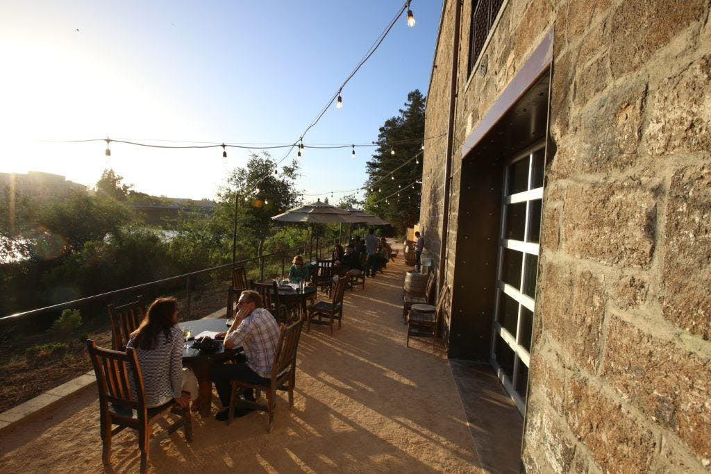 Bike the Napa Valley Vine Trail and have Craft Beers at Stone Brewing