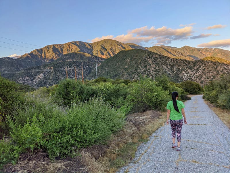 Hike to Gould Mesa Camp in LA County
