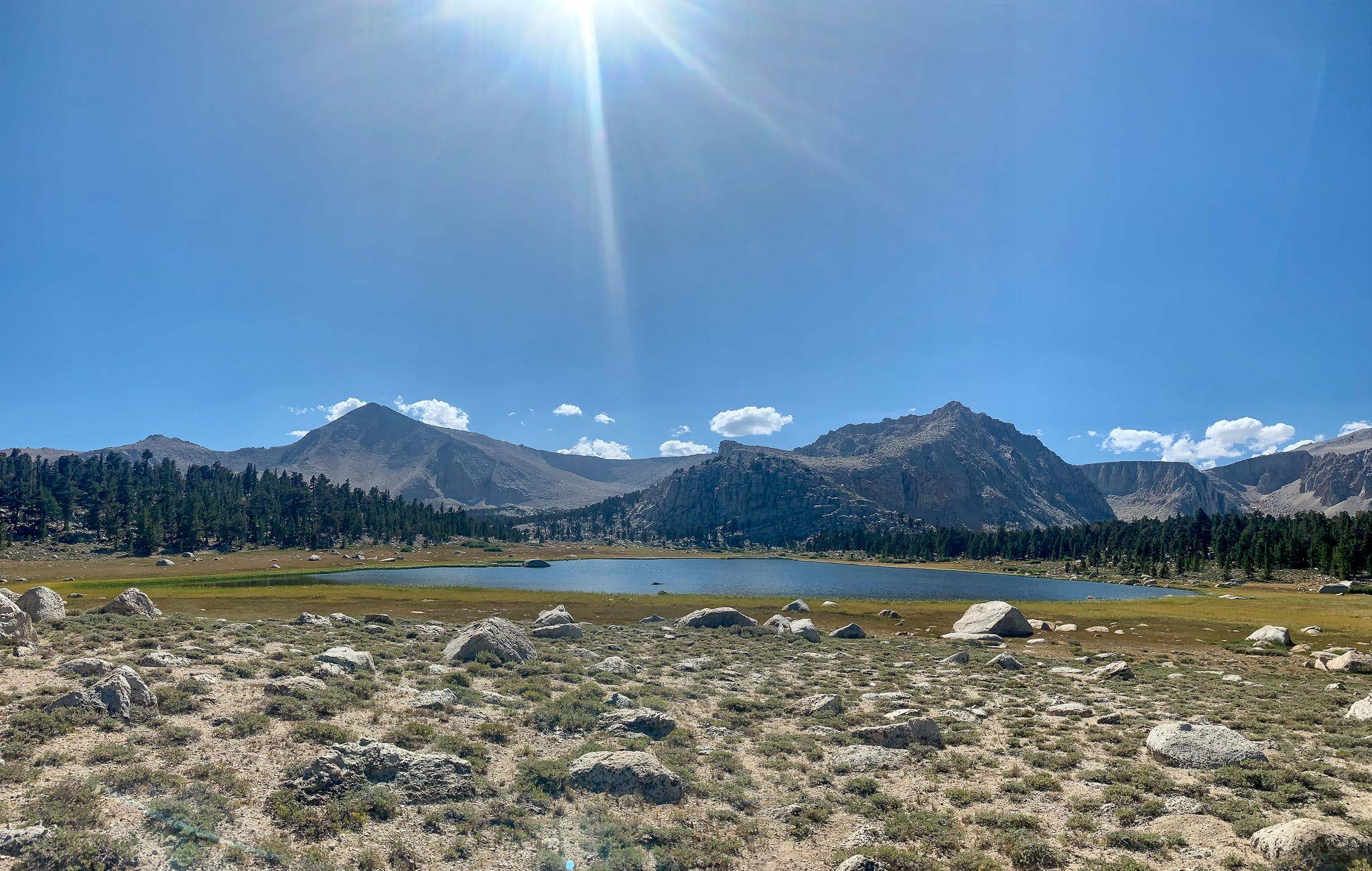 Hike to Cottonwood Lakes in the John Muir Wilderness