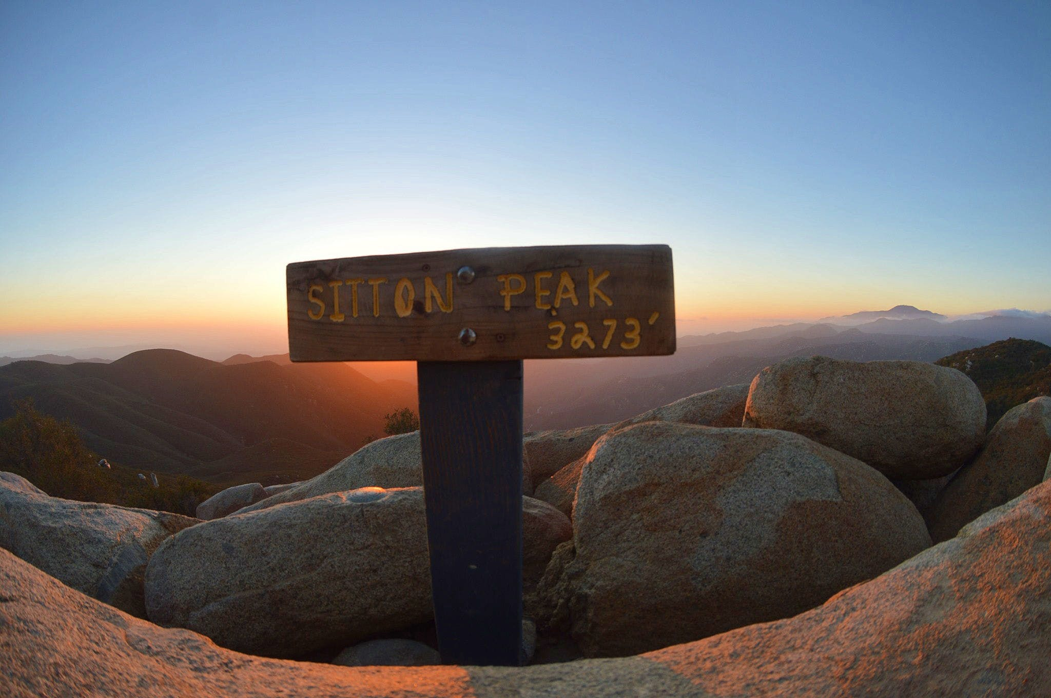 Sitton Peak Santa Ana Mountains
