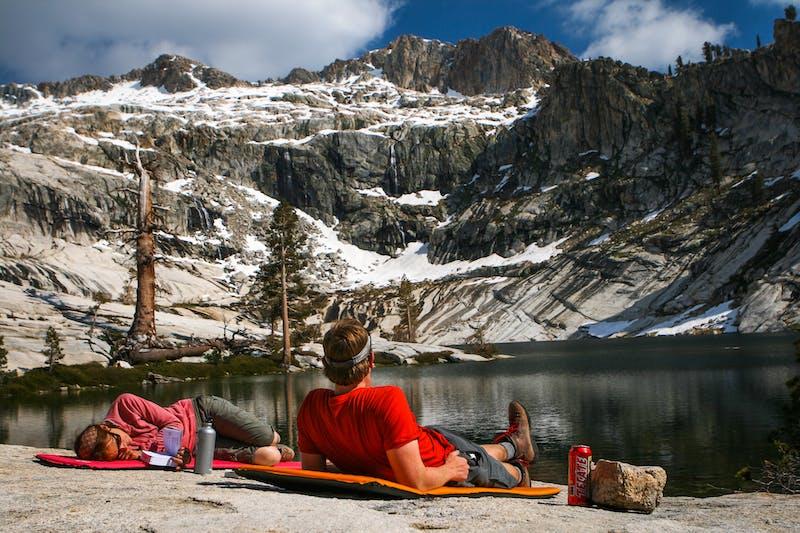 Sequoia National Park hike pear lake