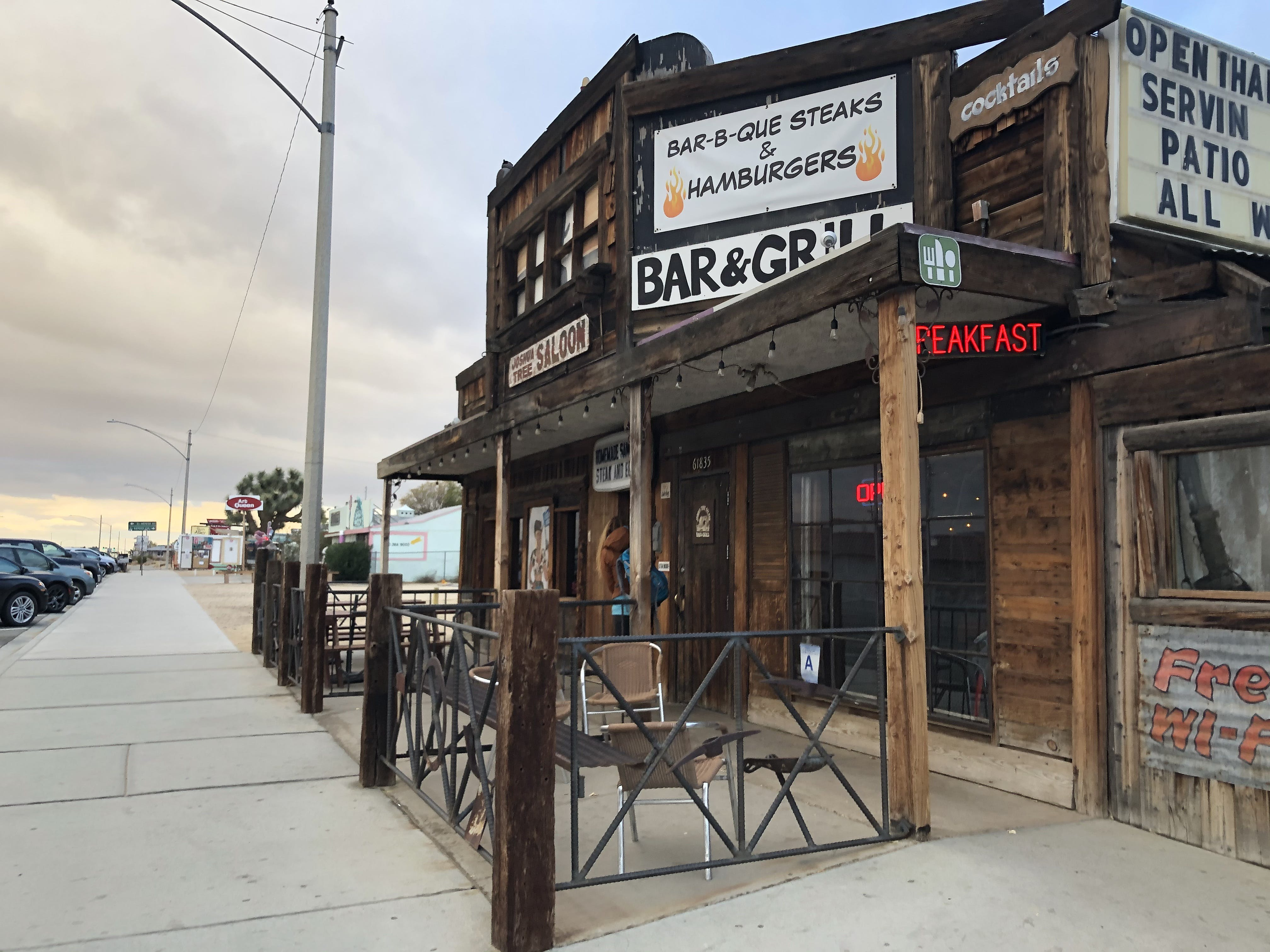 Where to eat and drink in Joshua Tree