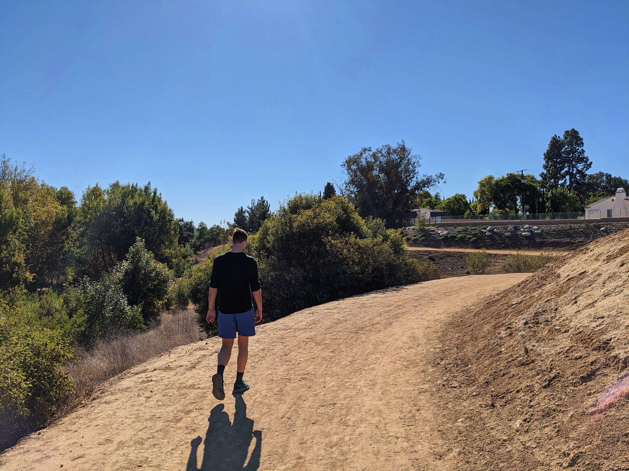 Hike Yorba in Orange County