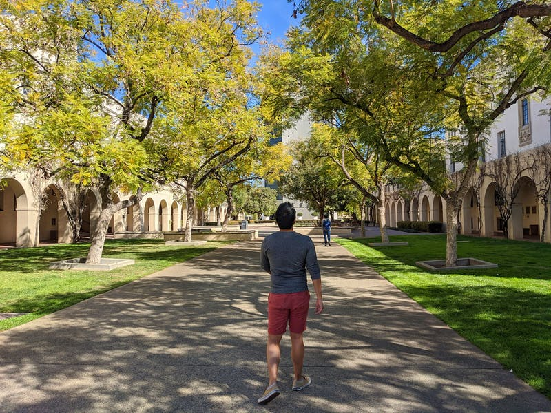 Caltech campus wander