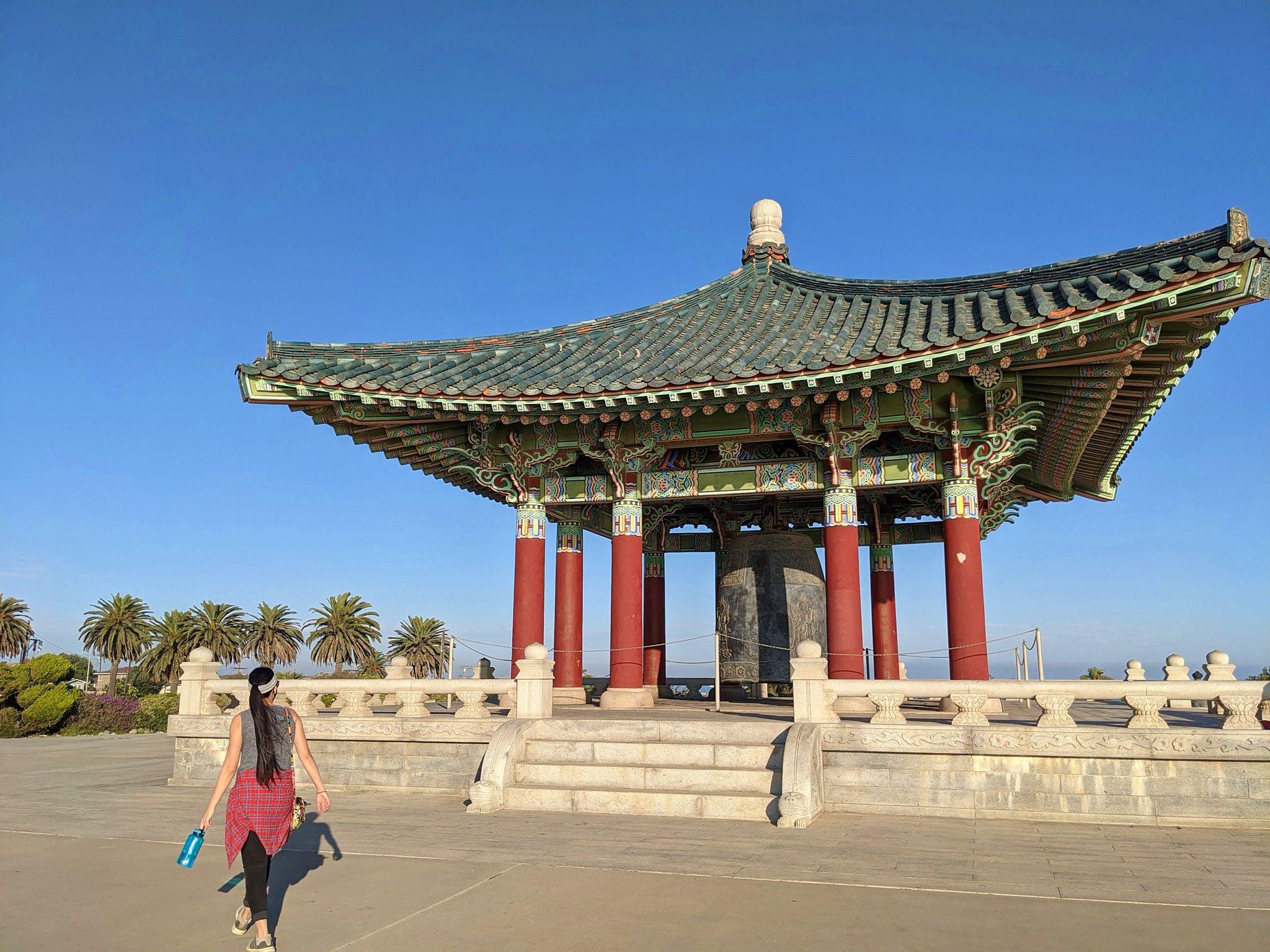 Korean Friendship Bell in Los Angeles