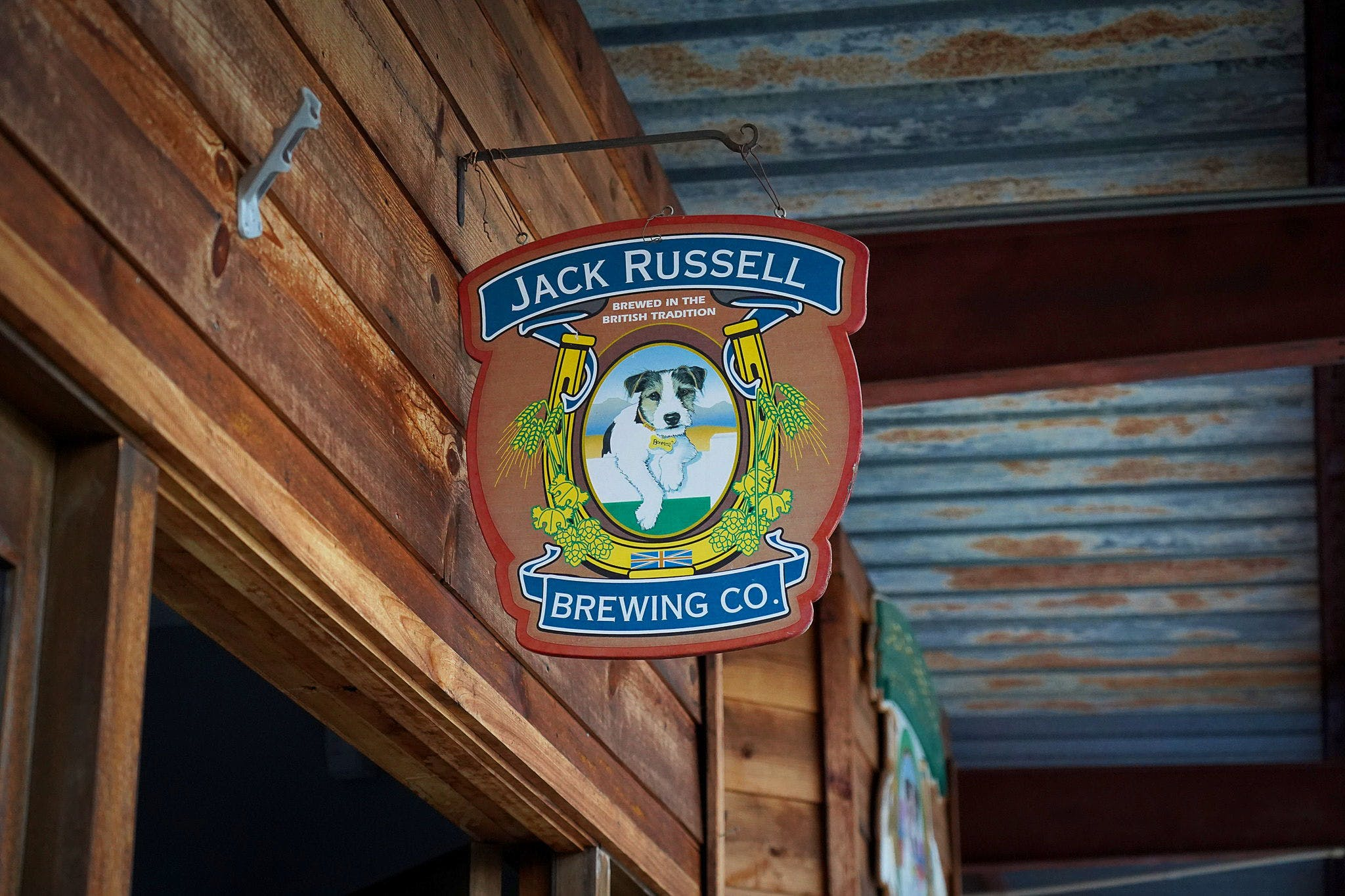 Jack Russell Farm Brewery in Apple Hill El Dorado County near Placerville