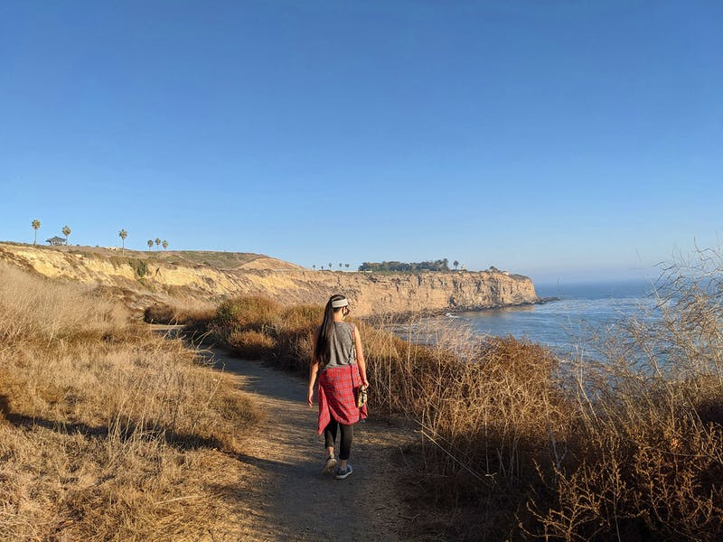 Hike from Point Fermin Park to Angels Gate Park