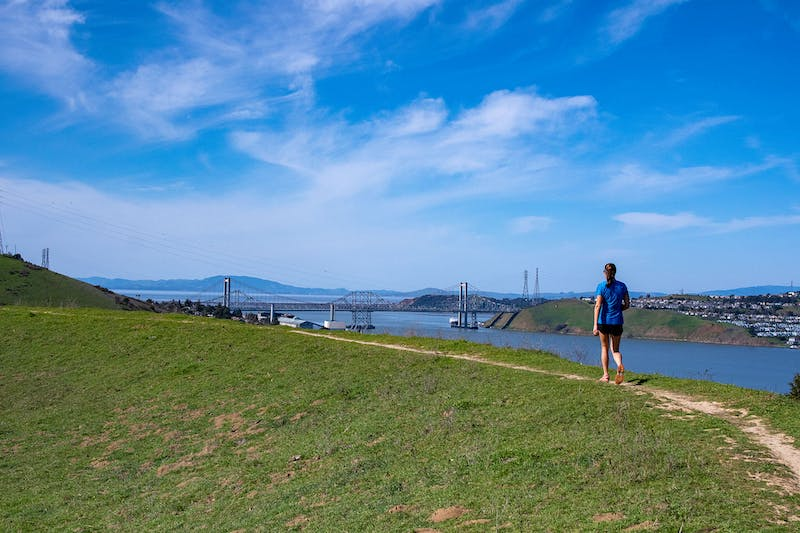 Hike Carquinez Strait Regional Shoreline in the East Bay