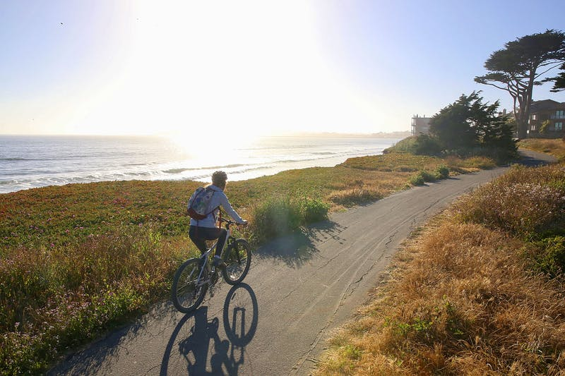 Bike the Coastal Trail to Pillar Point Harbor in Half Moon Bay