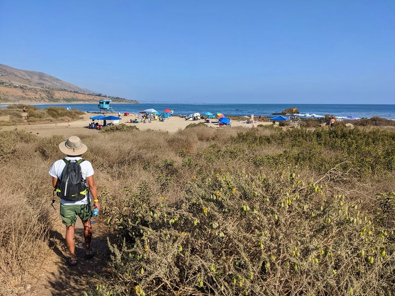 Hike to the Beach in Leo Carrillo State Park