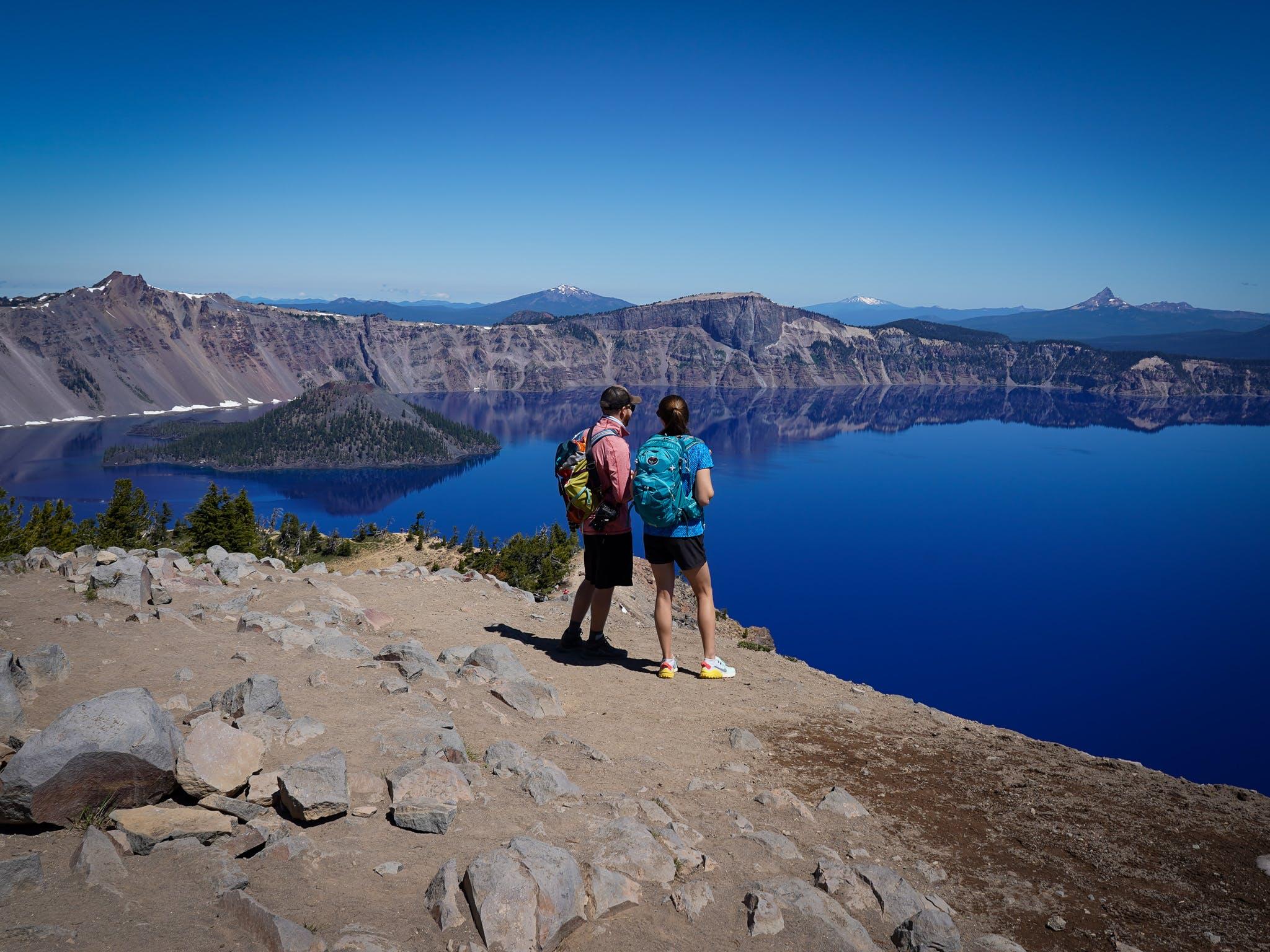 Hike Garfield Peak Crater Lake