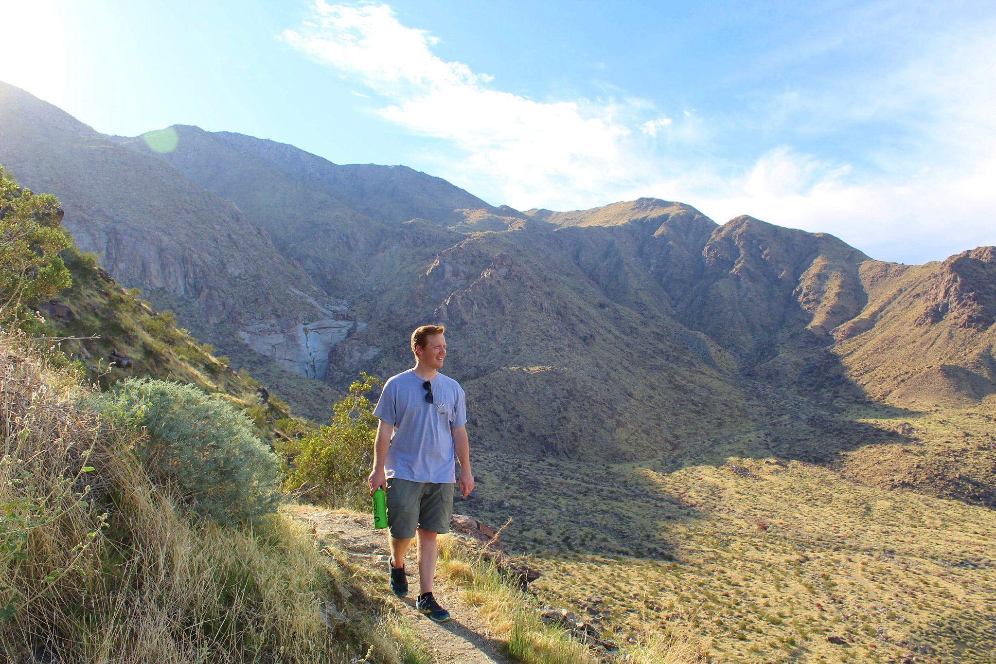 Hike Tachevah Canyon Rim to Rim San Jacinto mountain range