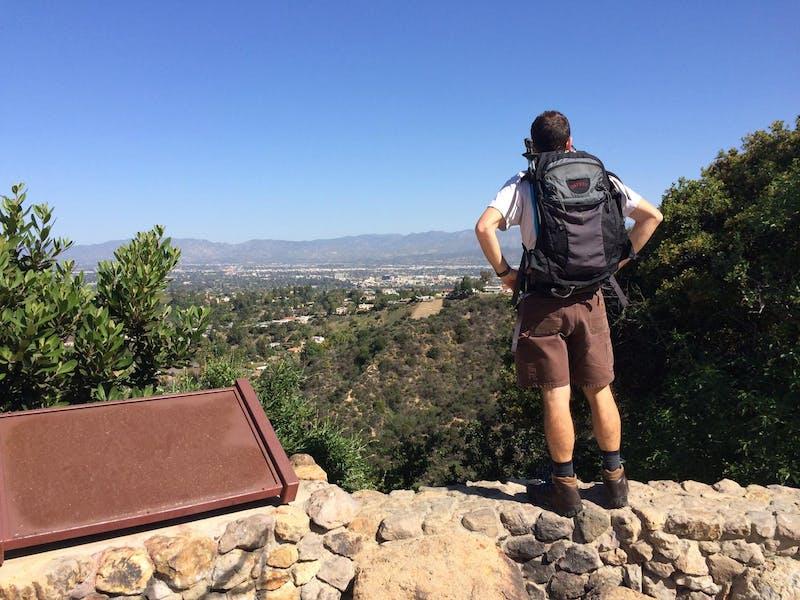 Fryman Canyon hike Los Angeles