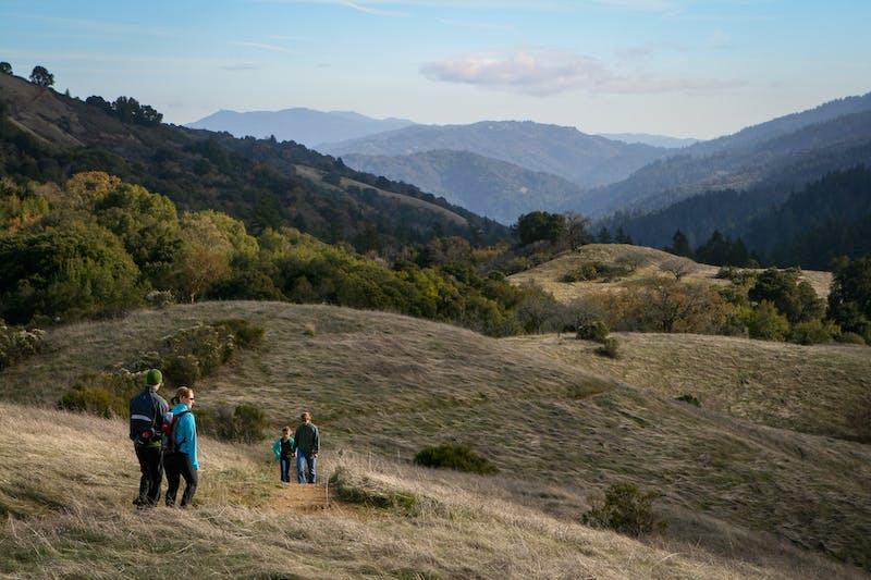 Hike Monte Bello Open Space to Black Mountain