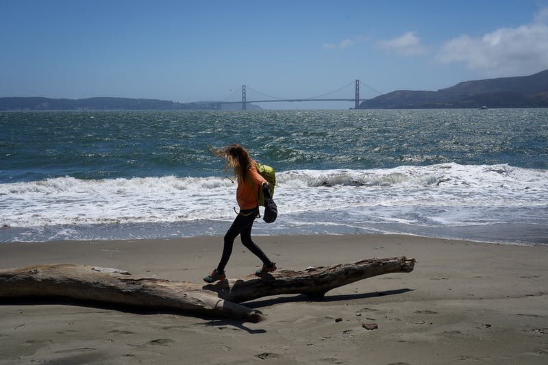 Perles Beach Angel Island San Francisco Bay