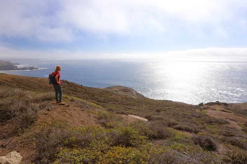 Hike Hill 88 to Battery Townsley in Marin Headlands