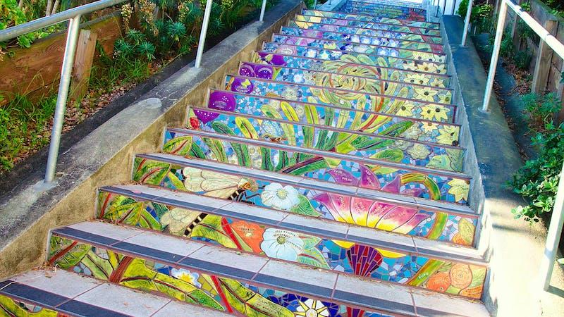 Hidden Stairways of SF Guided Walk