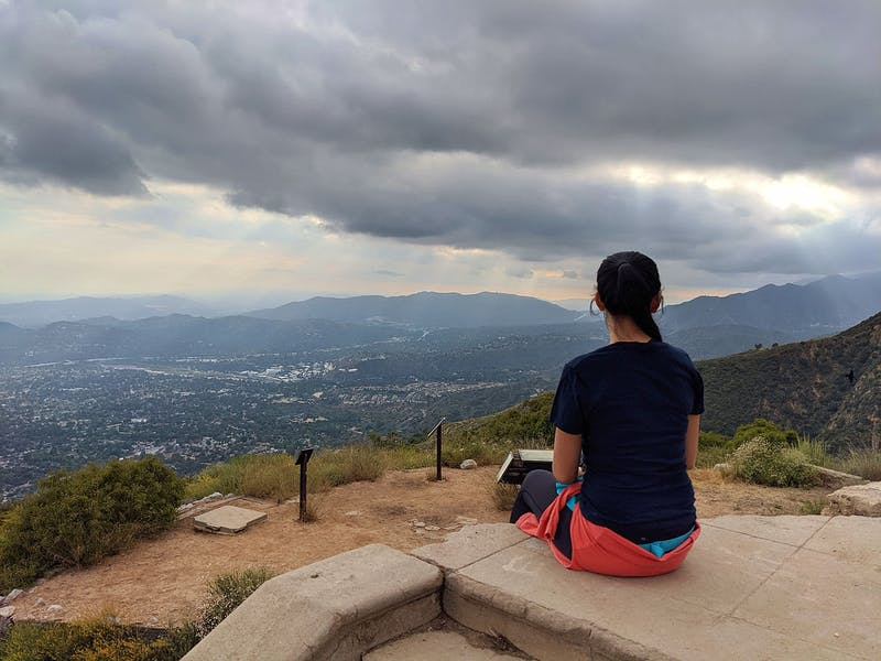 Hike to Echo Mountain Lookout in Angels National Forest