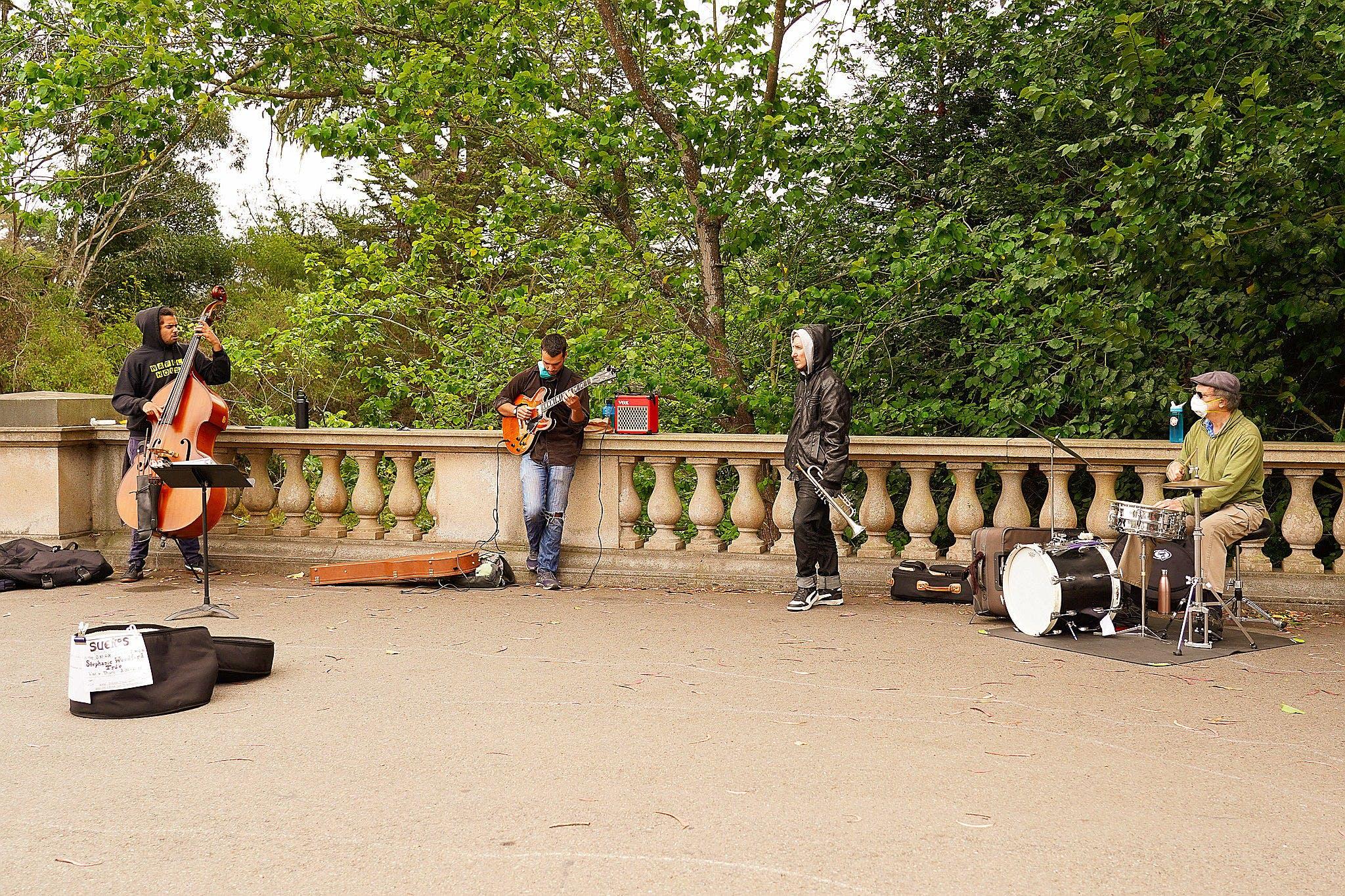 Suenos Jazz Quartet Golden Gate Park