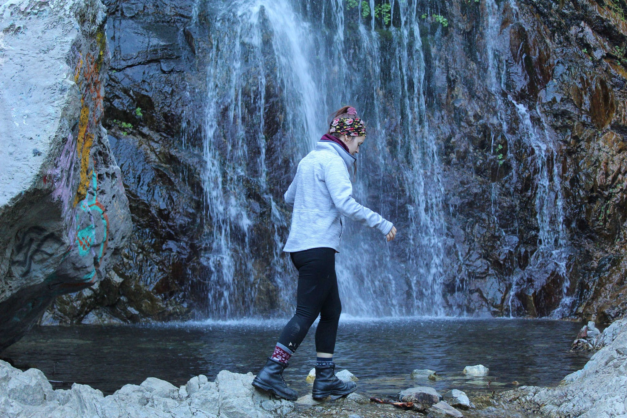 Bonita Falls San Gabriels