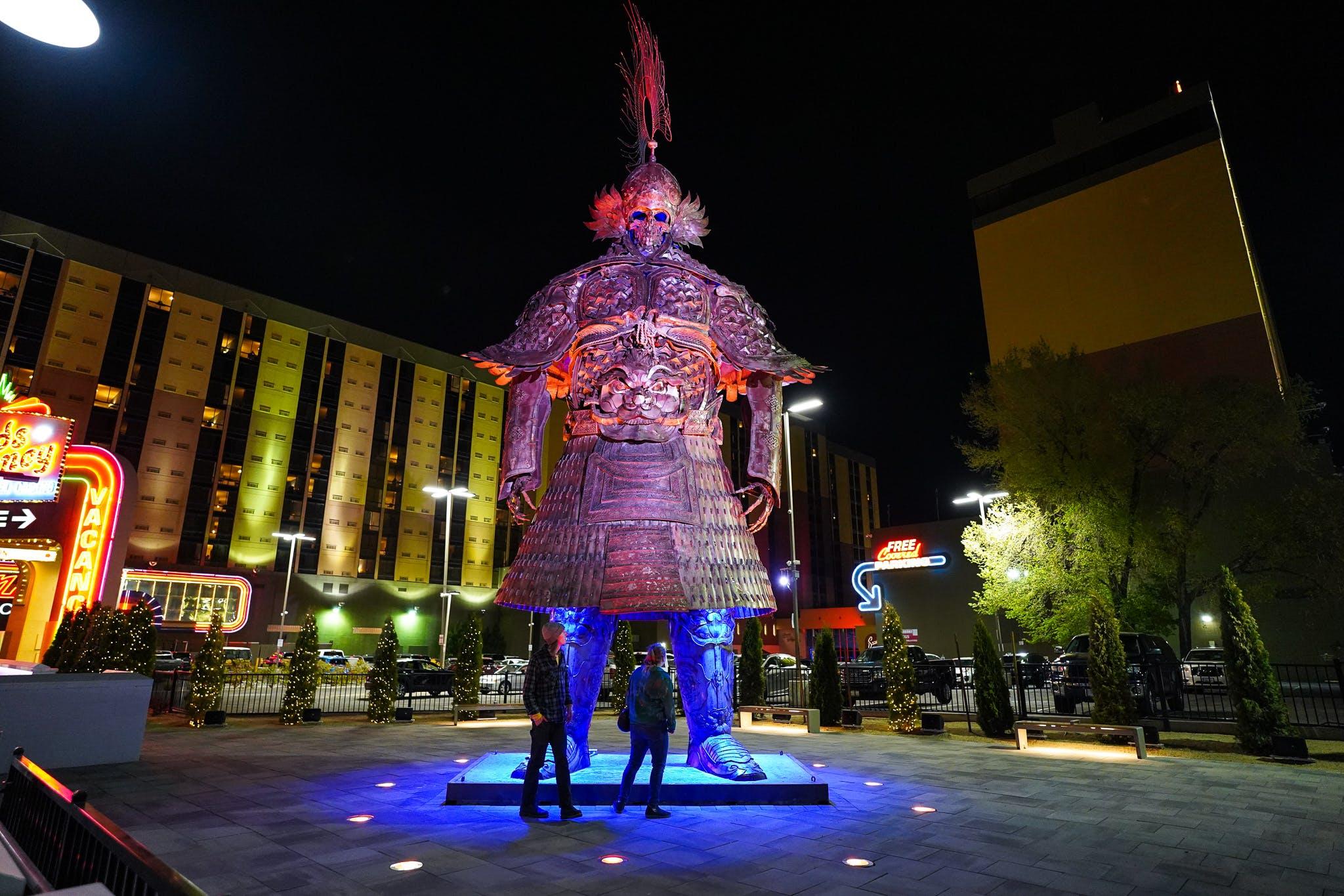 Reno Neon Line downtown