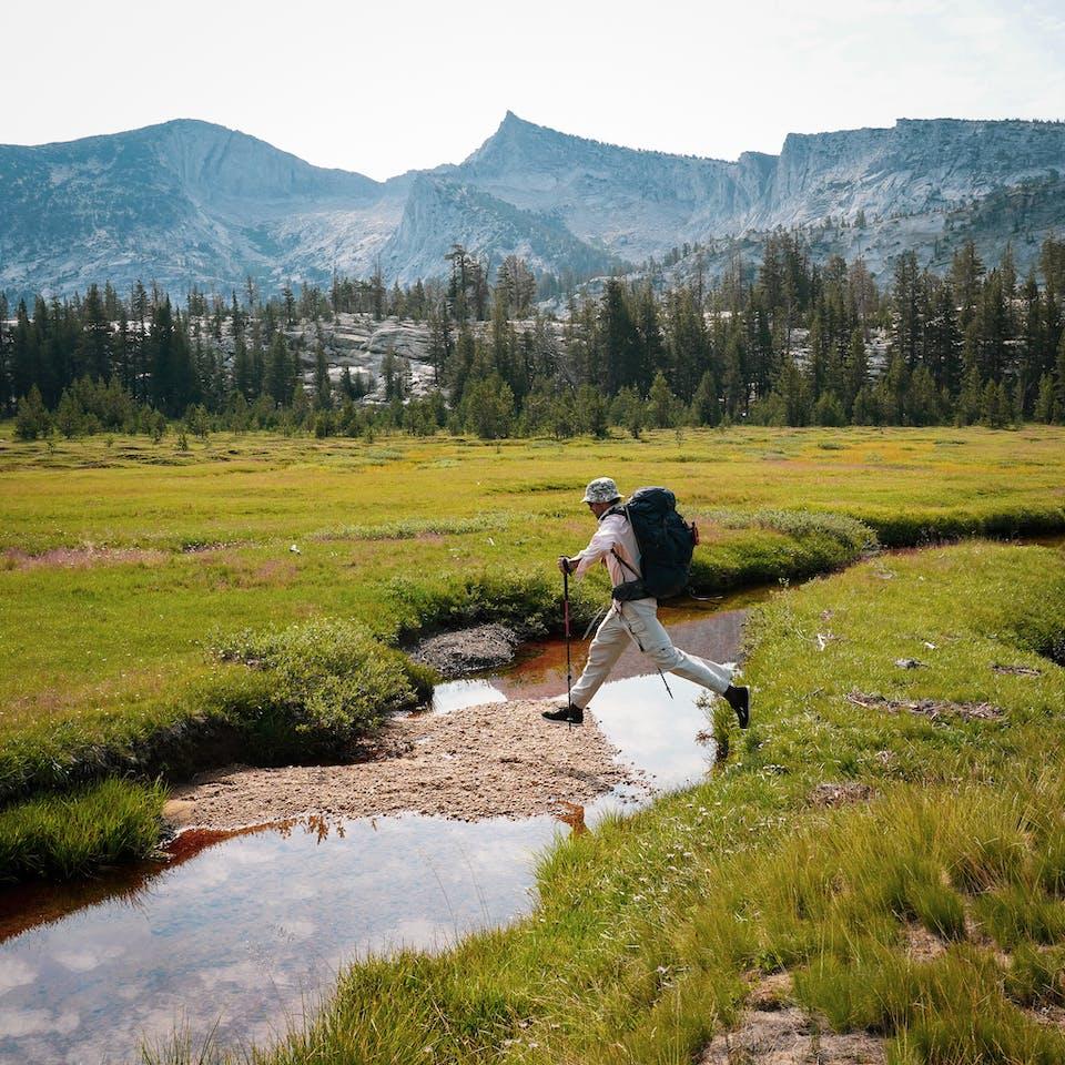 backpacking in Yosemite National Park High Sierra Loop